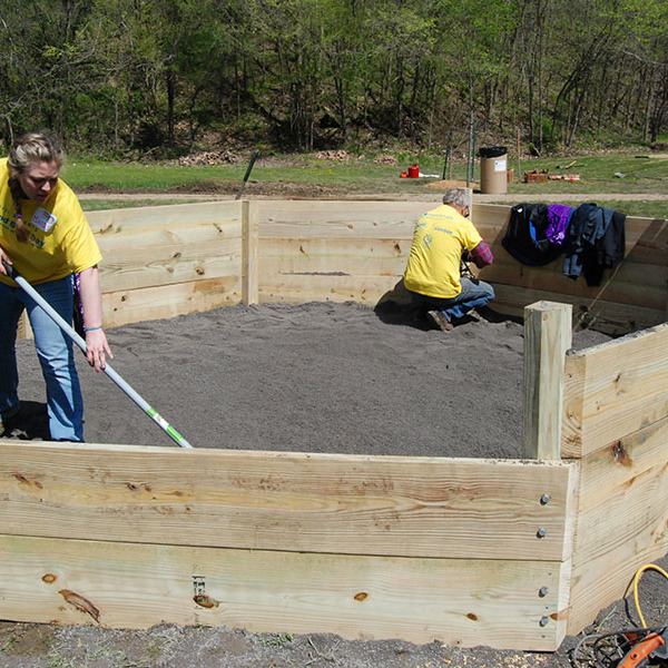 How to Build a Gaga Pit