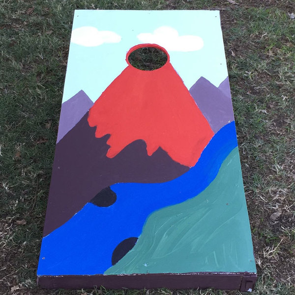 How to Build a Bean Bag Toss