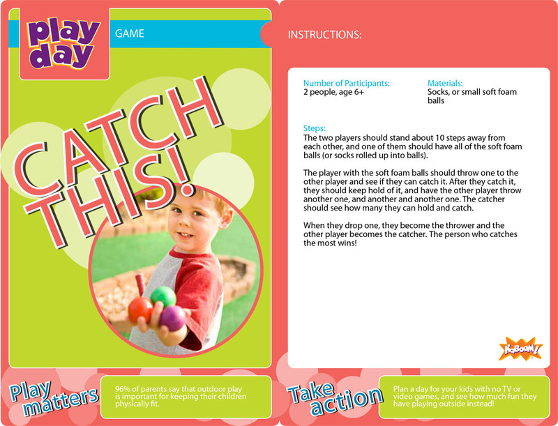 Catch This! Information Card