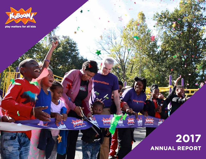 2017 KaBOOM! Annual Report
