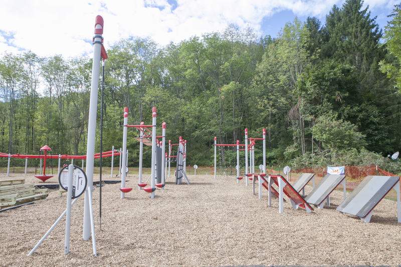 Adventure Course full view